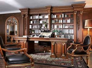 Office, Interiors, In, Classic, Style
