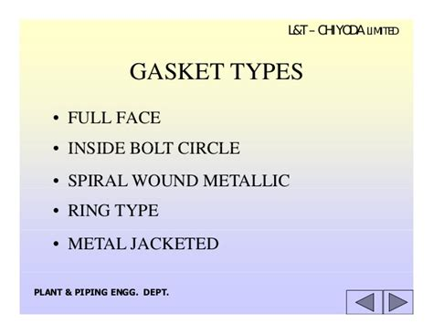 10 Flanges Gaskets & Fasteners