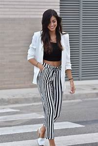 Best 25+ Stripped pants ideas on Pinterest | American apparel trousers American apparel ...