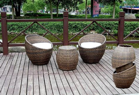 outdoor wicker table and chairs stackable rattan bar furniture popular aluminium