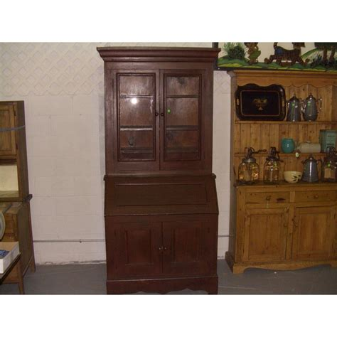 vintage secretary desk with hutch furniture drop front secretary desk with hutch and