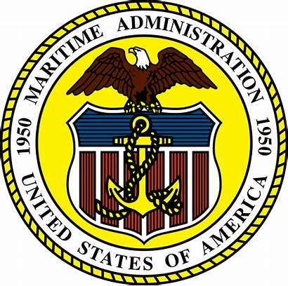 Marad Maritime Seal Svg Administration Merchant Marine