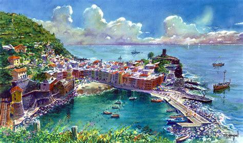 Watercolor Paintings By Tf Hempel Tf Hempel Painter