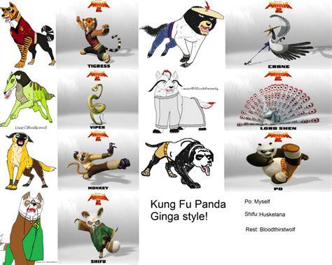 Kung fu Panda: Ginga...