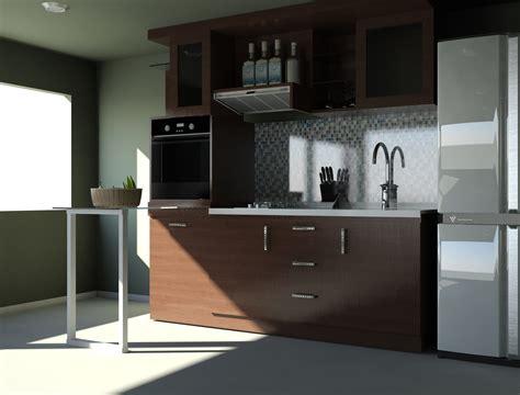 15 Minimalist Kitchen Set Design Freshouzcom