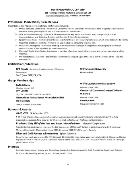 resume writers waterloo