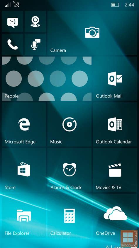 Windows 10 Mobile Build 10162 Screenshots Geleakt