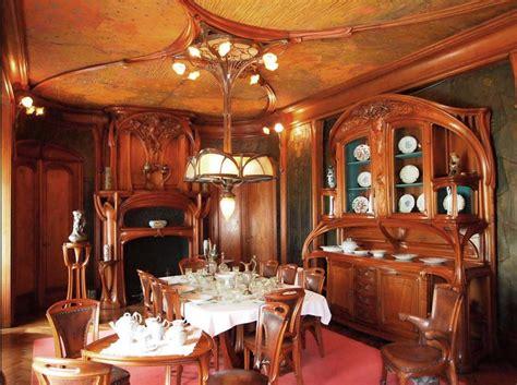 Art Nouveau Interior Design Classy Art Nouveau Interior