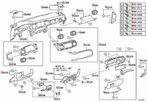 2002 Toyota Tacoma Interior Parts Diagram