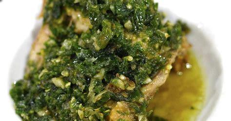 ayam bumbu cabai hijau resep masakan