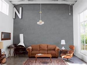 un enduit effet beton elle decoration With amenagement exterieur maison neuve 18 peinture effet metal