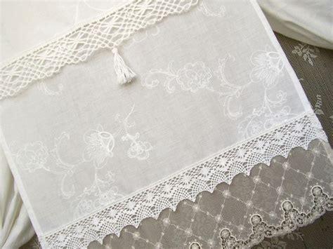 gardine french nordic style vintage shabbychic  gardinen vintage und dawanda
