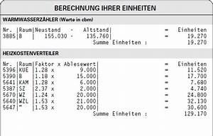 Wärmemengenzähler Abrechnung Excel : einheiten bfw b ro f r w rmemesstechnik heizkostenabrechnung betriebskostenabrechnung ~ Themetempest.com Abrechnung
