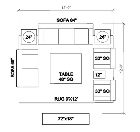Living Room Standard Furniture Measurements by Ideas Living Room Floor Plan Furniture Layout Tips