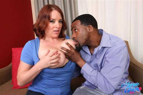 Maggie Green Gets Banged By Horny Ebony Dude