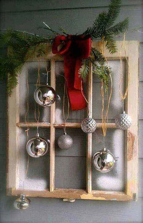 hanging christmas ornaments in window 32 astonishing diy vintage christmas decor ideas amazing diy interior home design