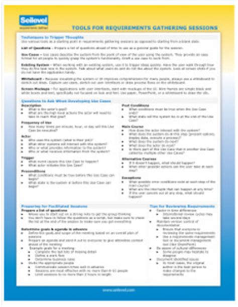 Report Requirements Template Gallery  Template Design Ideas