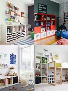 17 meilleures idees a propos de rangement des jouets sur for Meuble rangement jouet ikea