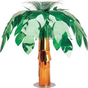 palm tree centerpiece  party city