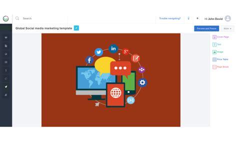 social media caign template social media social media template reportgarden