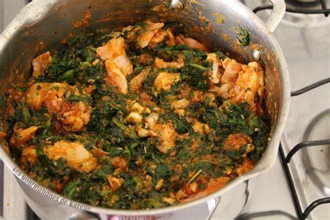 recette cuisine simple la sauce feuille de ma mère ma version simplifiée