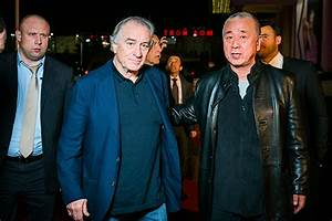 Robert De Niro and other stars at the opening of a ...