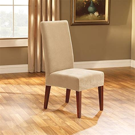 22 sure fit stretch pique shorty dining room chair
