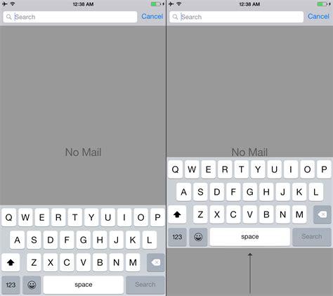 iphone 6 keyboard iphone 6 plus keyboard needs to move up dougit design