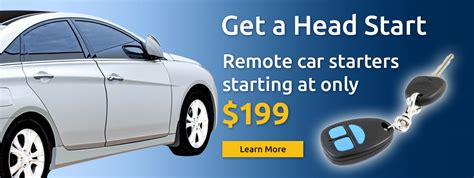 Remote Car Starters Starting At Only 9