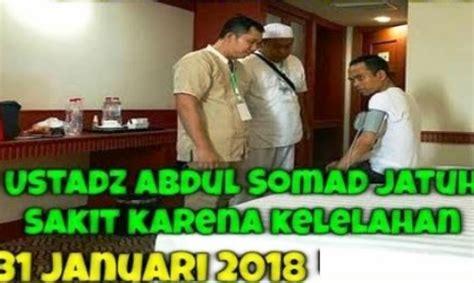 ustadz abdul somad sakit  jambi  semoga tidak