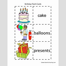 Holidays Flash Cards Resources