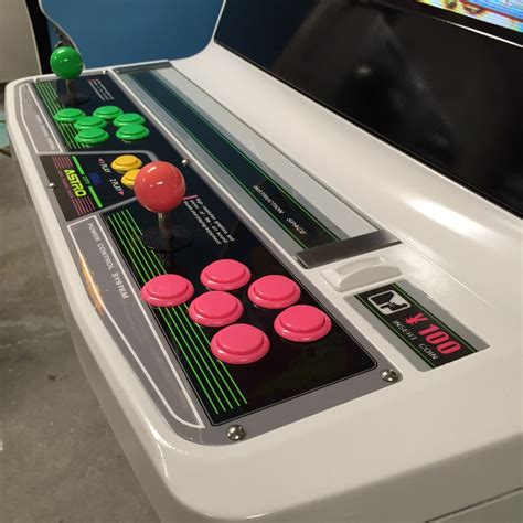 sold game sega new astro city candy cabinet sf bay