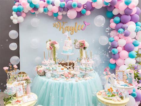 kara 39 s party ideas glamorous girl 1st birthday kara 39 s party ideas pastel mermaid birthday party kara 39 s