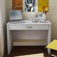 white secretary desk South Shore Secretary White Finish Computer Desk | eBay
