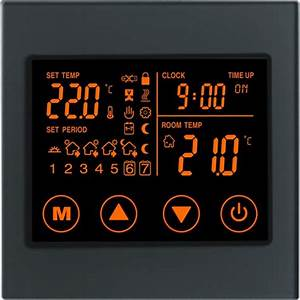 Boutique Underfloor Heating Electric Touch Thermostat V2