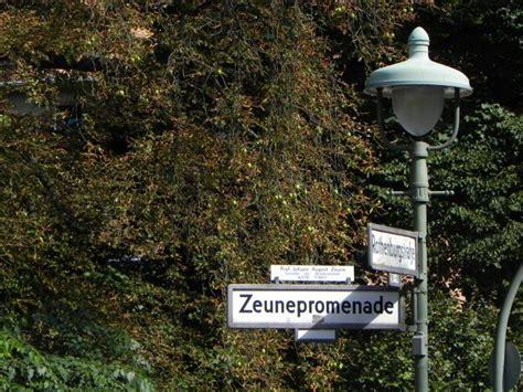 Botanischer Garten Berlin Am Fichtenberg 17 by Zeunepromenade Berlin Steglitz Ruth Andreas Friedrich