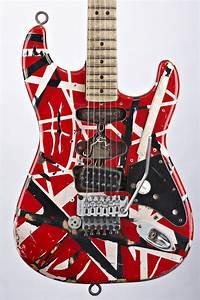Evh Eddie Van Halen Frankenstein Replica Guitar