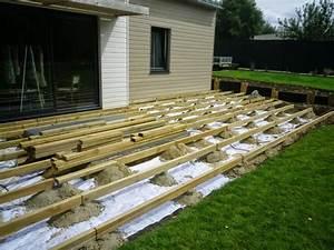 tuto terrasse bois myqtocom With comment renover une terrasse en bois