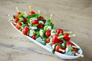 Tomate Mozzarella Spieße : vorspeisen ganske ~ Lizthompson.info Haus und Dekorationen