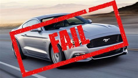 ford mustangs failed ncap testing proves safety