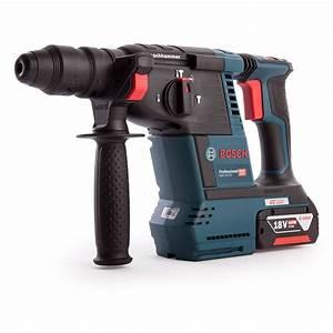 Bosch Pro 18v : bosch gbh 18v 26 professional cordless rotary hammer with ~ Carolinahurricanesstore.com Idées de Décoration