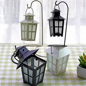 Windproof, Vintage, Morocco, Candle, Holders, Creative, Wedding, Decoration, Gifts, Black, And, White