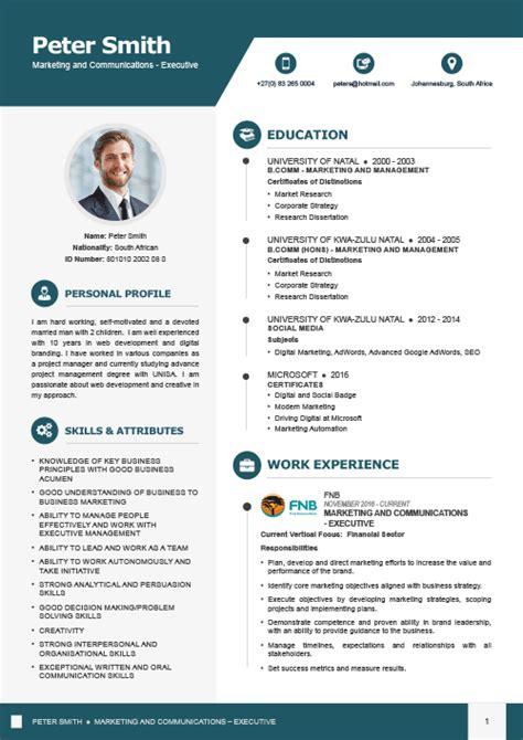 Executive Cv by Executive Cv Design 1 Elite Cv Professional Cv Services