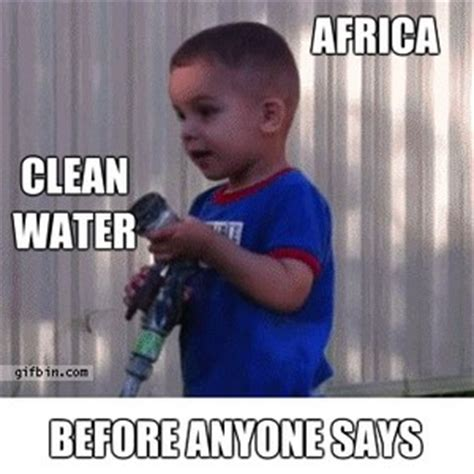African Kid Meme Clean Water - africa vs water by recyclebin meme center