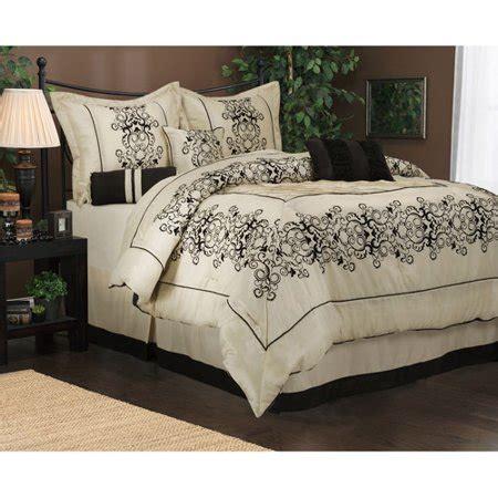 walmart bed comforters alsatia 7 bedding comforter set walmart