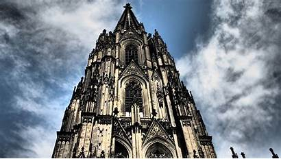 Cathedral Cologne Germany 4k Architecture Sky Wallpapers