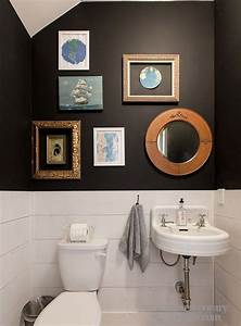 Small half bathroom decorating ideas
