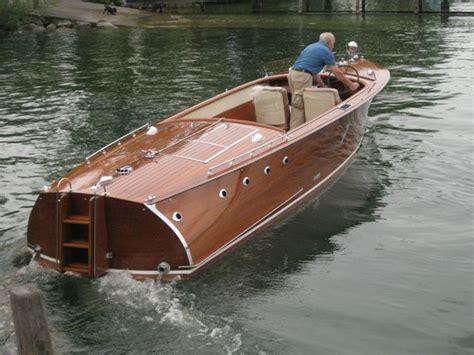 Motorboot Zulassung by Farner Stierlin Werft Ag Occasionsholzboote