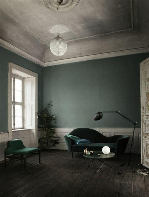 Bemerkenswert Wandfarbe Petrol Wirkung Wohnzimmer Braun Petrol