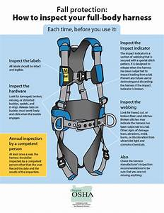 Full Body Harness Inspection Diagram